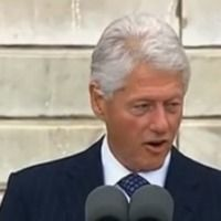 Bill Clinton, 'A great democracy does not make it harder to vote than to buy an assault weapon.'