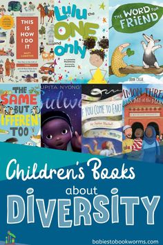 Celebrate what makes us similar and what makes us different in these children's books about diversity.