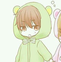 Chibi Couple, Anime Love Couple, Cute Anime Couples, Anime Cupples, Kawaii Anime, Kimi No Na Wa Wallpaper, Anime Girl Pink, Chibi Cat, Anime Couples Drawings