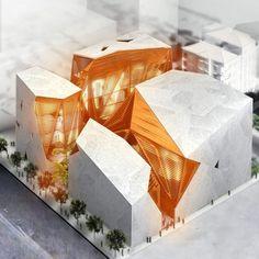 1,892 個讚,37 則留言 - Instagram 上的 Architecture of the future(@threemodelarchitecture):「 Kaputt!'s proposal for the New Arts and Culture House in Beirut . . A couple of days ago we… 」