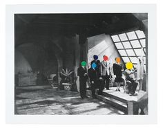 The Man Behind The Dot. #JohnBaldessari as featured in #LuxuryMagazine  Studio, 1988, 30.5 x 38.5 inches. Delete Comment