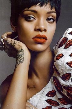 Riri For vogue Rihanna