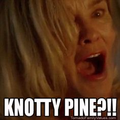 What is this? KNOTTY PINE?!! American Horror Story - Coven
