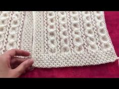 Preparation of the vest sample … Knitting Stiches, Knitting Videos, Baby Knitting Patterns, Loom Knitting, Crochet Patterns, Baby Scarf, Baby Vest, Arm Warmers, Pattern Design