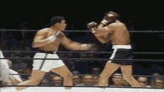 insidiousgrim: grapejellyking: real-hiphophead:Muhammad Ali Tribute The Greatest that shuffle tho Haha the classic Shake n Bake move in the first gif This guy was so damn awesome!