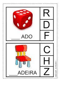 Educação infantil facil: JOGO DA LETRA INICIAL Professor, Education, Games, Toys, School, Preschool Literacy Activities, Kids Learning Activities, Games For Autistic Children, Tongue Twisters