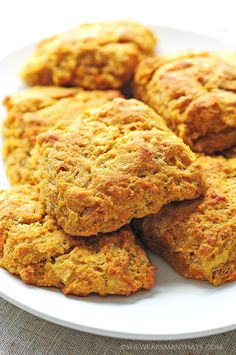 Sweet Potato Biscuits Recipe --- use vegan substitutes for butter and buttermilk.
