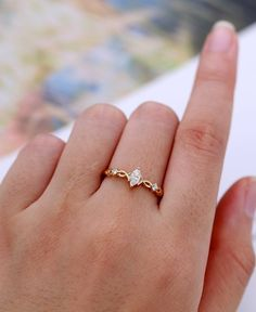 Moissanite engagement ring Simple Vintage Art deco Gold & Etsy The post Moissanite engagement ring Simple Vintage Art deco Gold Bridal Marquise cut Antique Unique Diamond Wedding Anniversary Gift for women appeared first on Wedding. Diamond Cuts, Diamond Clarity, Perfect Engagement Ring, Vintage Engagement Rings, Diamond Wedding Anniversary Gifts, Vintage Gold Rings, Beautiful Rings, Ring Designs, Rings