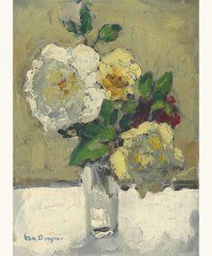 'Flowers' - Kees van Dongen (1877–1968)