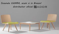 "Frumoasele si elegantele scaune ""Chiara"" sunt disponibile acum si in Brasov, prin ADOR Mobila! Si pentru ca ele sunt mai frumoase in realitate decat in poza, te invitam sa vii le vezi! Mai, Dining Chairs, Furniture, Home Decor, Decoration Home, Room Decor, Dining Chair, Home Furnishings, Home Interior Design"