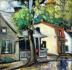 Après la pluie, Ste-Rose by Marc-Aurèle Fortin Great Paintings, Art Gallery, Canadian Art, Classic Art, Painting, Art, Canadian Painters, Old Paintings, Z Arts