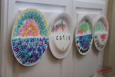 Toddler Approved!: Paper Plate Mailboxes. Fun way to embed reading and writing into your day