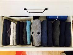 Die 24 Besten Bilder Von Ordnung Kleiderschrank Wäsche