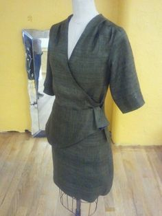 1940's dress I design for The Mother of the Groom