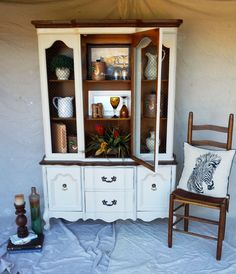 Beautiful China Cabinet $450 - Weatherford http://furnishly.com/catalog/product/view/id/1812/s/beautiful-china-cabinet/