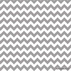 $8.95 Fabric... Small Chevron in Gray by Riley Blake Designs