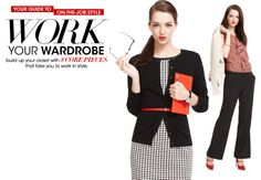 Your guide to on-the-job style - WORK YOUR WARDROBE - 8 Core Pieces | Macys.com