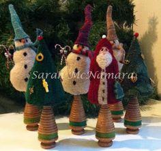 The Paisley Studio: Christmas figures