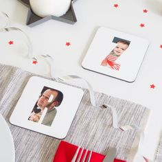 Practical and personal gifts, our photo coasters are perfect ways to make happy memories last. #photocoaster #coaster #tableware