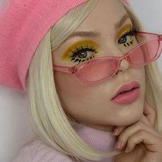 Cool Makeup Looks, Beautiful Eye Makeup, Creative Makeup Looks, Cute Makeup, Perfect Makeup, Makeup Inspo, Makeup Art, Makeup Inspiration, Beauty Makeup