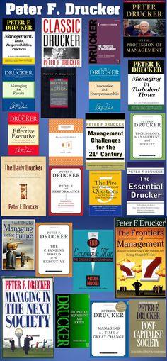 Peter Drucker books. www.TalentBitsAndBytes.com