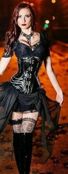 3b0ce7f6a4e Gothic Fashion Ideas. For those men and women who love being dressed in  gothic type