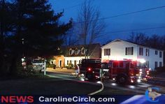Two story structure fire at Franklin St. Denton, MD. (March 25th 2015)
