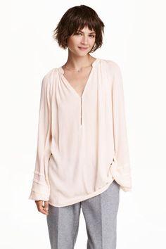 Blusa en crepé | H&M