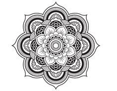plantillas de dibujos mandalas   mandalas   Pinterest   Mandalas ...