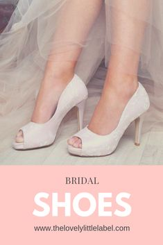 SHOP NOW Bridal Shoes to suit every style from The Lovely Little Label we Satin Wedding Shoes, Wedge Wedding Shoes, Best Bridal Shoes, Bridal Sandals, Umbrella Wedding, Wedding Umbrellas, Tiffany Blue Heels, Vintage Style Shoes, Beautiful Shoes