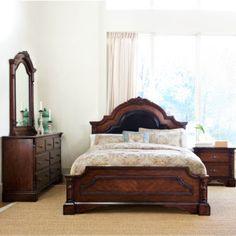 Manchester Bedroom - Bed, Dresser & Mirror - King (756BR15 ...