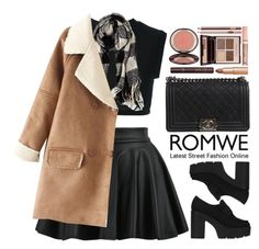 """""""Romwe"""" by oshint ❤ liked on Polyvore featuring adidas Originals, American Eagle Outfitters, Chanel, Charlotte Tilbury, amazing, cool, beautiful, romwe and fabulous"""