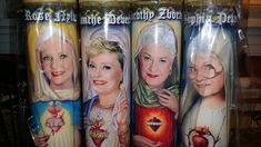 "Golden Girls Dorothy Candle - Dorothy Zbornak AKA Bea Arthur - 8"" 80's TV Tribute Devotional Candle - Heavenly geekery - Superstar Candles - 25% off SALE - 1 week only!"