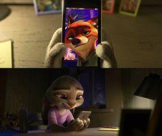 I love you, my cute bunny. - I love you too, my handsome fox. Nick Wilde, Cute Bunny, My Animal, How To Look Pretty, Fangirl, Joker, Handsome, Deviantart, Disney