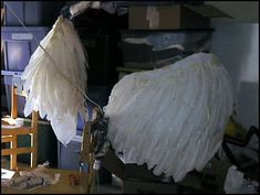How to make your own set of angel wings!