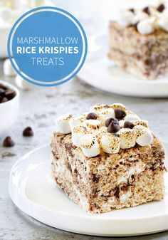 S'mores Marshmallow Rice Krispies Treats®. The combination of chocolate, graham crackers, and sweet marshmallows is a classic for a reason.