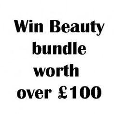 Win #Beauty bundle worth over £100 ^_^ http://www.pintalabios.info/en/fashion-giveaways/view/en/3115 #International #MakeUp #bbloggers #Giweaway