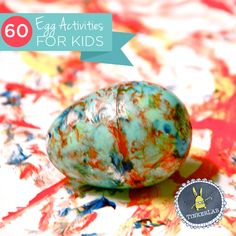 Diese sind wirklich einfach, und werden die Kinder viel Abwechslung für Ostern geben.  Egg Aktivitäten für Kinder!