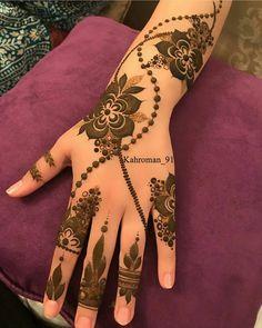 116 Best Arabic Mehendi Designs photos by mehendi Indian Henna Designs, Floral Henna Designs, Back Hand Mehndi Designs, Mehndi Designs Book, Mehndi Designs 2018, Modern Mehndi Designs, Mehndi Designs For Girls, Wedding Mehndi Designs, Mehndi Designs For Fingers