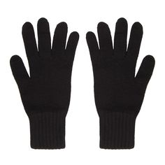 Cashmere Gloves, Black