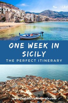 One week in Sicily: your ultimate itinerary! Plan for the best Italy vacation with these Italy travel tips and Italy travel guide! Sicily Travel, Italy Travel Tips, Travel Guide, Visit Sicily, Italy Destinations, One Week, Italy Vacation, World Heritage Sites, Day Trips
