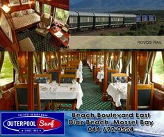 South Africa has the most luxurious train in the world, The Rovos Rail. #SouthAfrica #Train #Luxurious