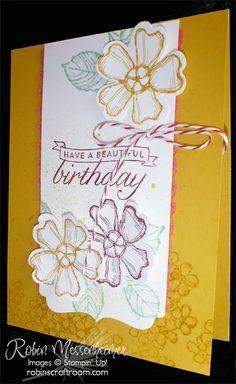 RobinsCraftRoom.com » Blog Archive » New Stamps 3: Birthday Blossoms