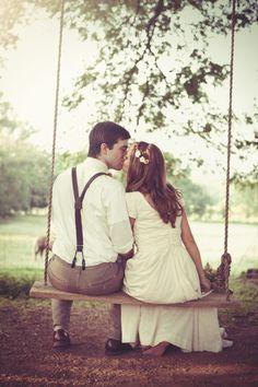 Rustic budget friendly homemade wedding-So cute!