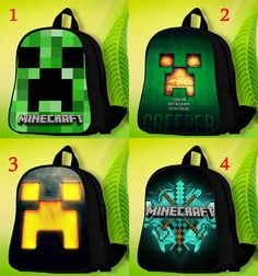 Minecraft Custom School Bags. by CollorfullSchoolBag on Etsy df6f11acfa7f7