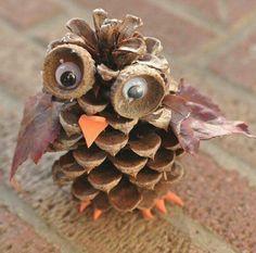 Cute #owl fall decoration