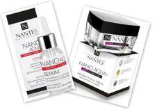 Krem Nano Aqua Lift Advanced dla skóry dojrzałej oraz serum Sensi Line dla skóry naczyniowej, wrażliwej i skłonnej do podrażnień.