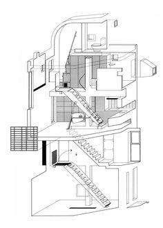 Bolles + Wilson | Casa Suzuki | Tokio, Japón | 1990-1993 | Pequeña…