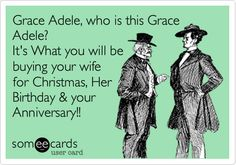 Grace Adele, who is this Grace Adele? It's What you will be buying your wife for Christmas, Her Birthday & your Anniversary!!