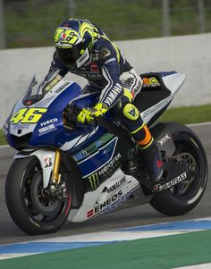 Valentino Rossi Photo - MotoGP Tests: Day 4